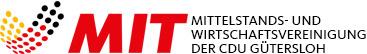Logo der Mittelstands- und Wirtschaftsvereinigung der CDU Gütersloh