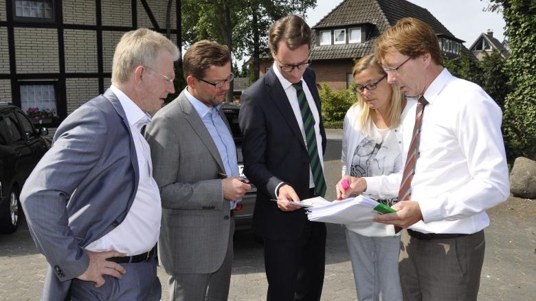 Stefan Bierfischer trifft Verkehrsminister Hendrik Wüst