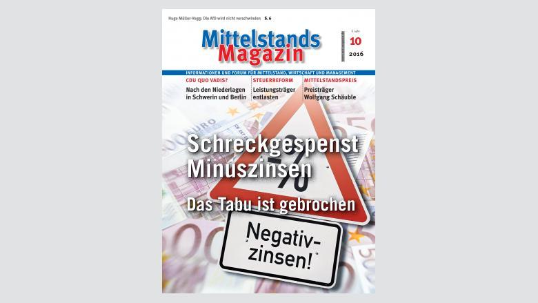 MittelstandsMagazin, Ausgabe 10/2016